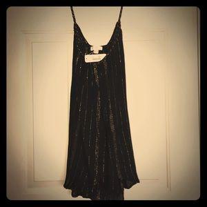 Shimmery Black/Gold Tank
